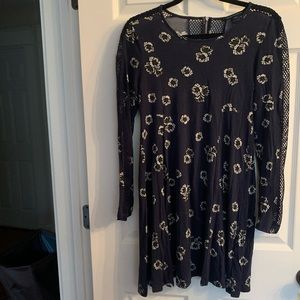 French Connection Long Sleeved Mini Dress